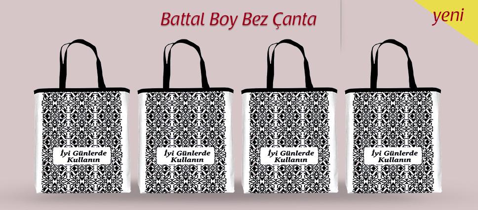 Yeni Battal Boy Bez Çanta
