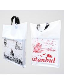 İstanbul Yumuşak Saplı  Naylon Poşet (25kg)